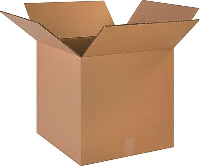 """18"""" x 18"""" x 18"""" Shipping Boxes, Brown, 10/Bundle (HD1818DW)"""
