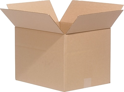 "7"" x 7"" x 7"" Shipping Boxes, ECT Rated, Double Wall, Kraft, 25/Bundle (60-070707)"