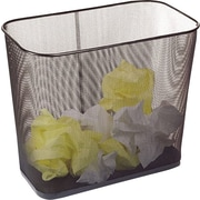 Staples Metal Mesh Waste Bin