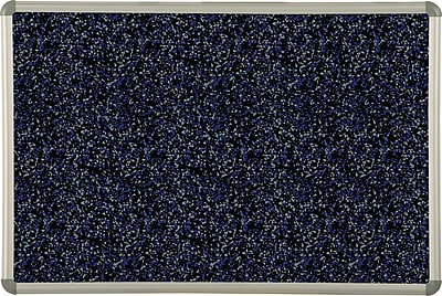 Best-Rite Blue Rubber-Tak Bulletin Boards, Euro Trim Frame, 8' x 4'