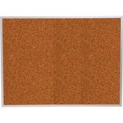 Best-Rite® Red Splash Cork Bulletin Boards with Aluminum Trim
