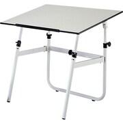 Safco Melamine Drafting Table, White