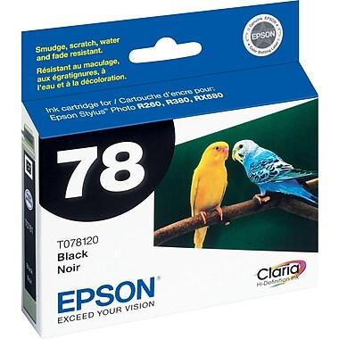 Epson® – Cartouche jet d'encre noire 78, T078120