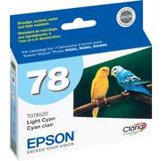 Epson® – Cartouche d'encre cyan clair 78 (T078520)