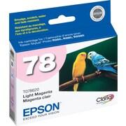 Epson® – Cartouche d'encre magenta (peu foncé) T078620, 78
