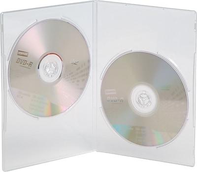 //.staples-3p.com/s7/is/  sc 1 st  Staples & Staples® Double Slim DVD Cases 20/Pack | Staples