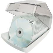 Staples 40 CD Caseless Storage Box, Platinum (11030-CC)
