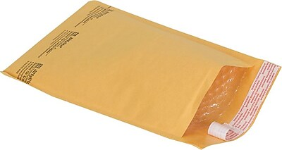 Bubble Cushioned Mailers in Bulk, #1, 7-1/8