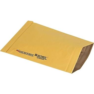 No Seal #4 Padded Mailer, Gold Kraft, 9-3/8