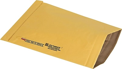 Staples® EasyClose Padded Mailers, #0, 5-7/8