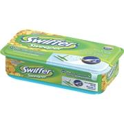 Swiffer – Recharges de linges préhumidifier, parfum agrumes, 24/pqt