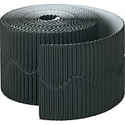 "Bordette 600""L x 2.25""H Border, Solid, Black (37304)"