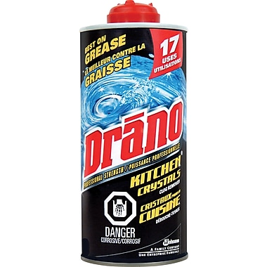 Drano Kitchen Crystal Clog Remover