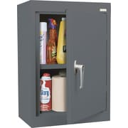 Sandusky Solid Single Door Cabinet, Charcoal