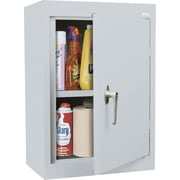 Sandusky Solid Single Door Cabinet, Dove Gray