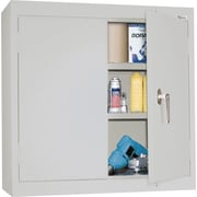 Sandusky Solid Double Door Cabinet, Dove Gray