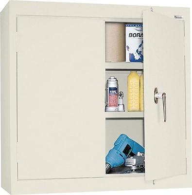Sandusky Solid Double Door Cabinet, Putty