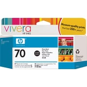 HP 70 Black Ink Cartridge, Standard (C9449A)