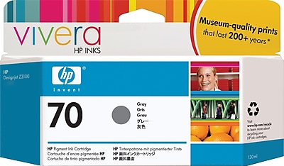 HP 70 Gray Ink Cartridge (C9450A)
