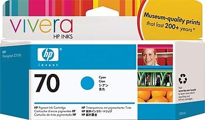HP 70 Cyan Ink Cartridge (C9452A)