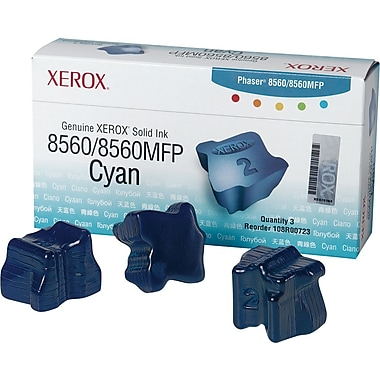 Xerox® 108R00723 Cyan Solid Ink, Combo Pack