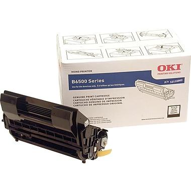 OKI 52116002 Black Toner Cartridge, High Yield