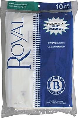 Royal® Type B Micron Vacuum Bags, 10/Pack