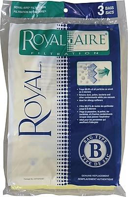 Royal® Type B Micron Vacuum Bags, 3/Pack