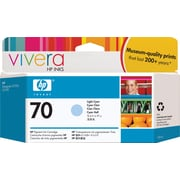 HP 70 Light Cyan Ink Cartridge, Standard (C9390A)