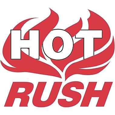 Shipping Label, Hot Rush, 4
