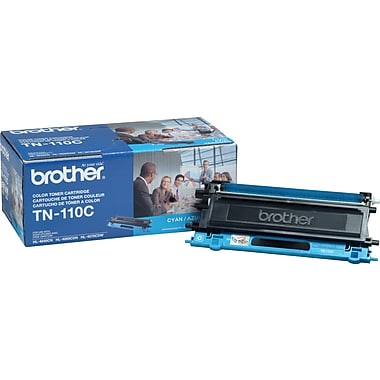 Brother – Cartouche de toner cyan TN110 (TN110C)
