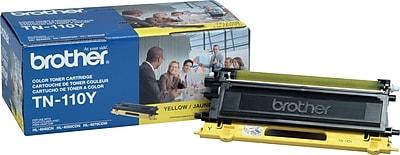 Brother Genuine TN110Y Yellow Original Laser Toner Cartridge