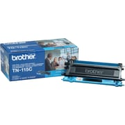 Brother TN115 Cyan Toner Cartridge, High Yield (TN115C)