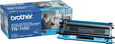 Brother Genuine TN115C Cyan High Yield Original Laser Toner Cartridge