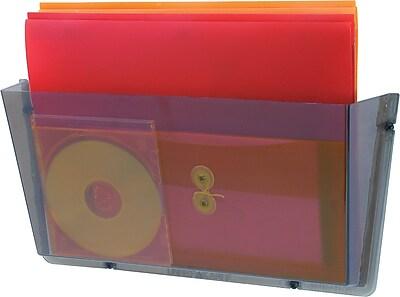Staples Unbreakable Single Smoke Wall Pocket, Legal-Size (20478/64302)