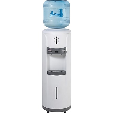 Avanti® Hot and Cold Water Cooler in Cabinet, White