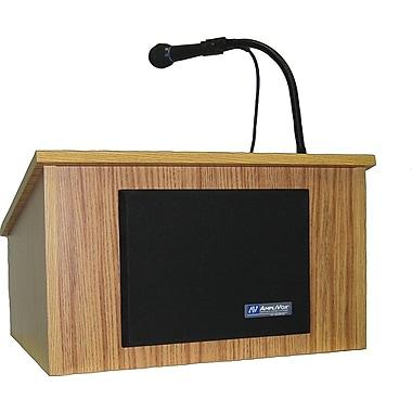 AmpliVox Sound Systems Wireless Tabletop Lectern, Walnut (SW250-WT)