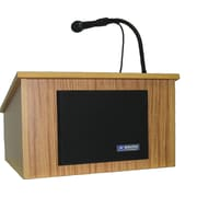 AmpliVox Sound Systems Wireless Tabletop Lectern, Oak (SW250-OK)