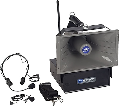 AmpliVox® SW610A Half-Mile Hailer Wireless Megaphone