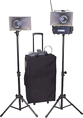 Amplivox Wireless Half-Mile Hailer Kit