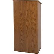Amplivox Floor Lectern (Medium Oak)
