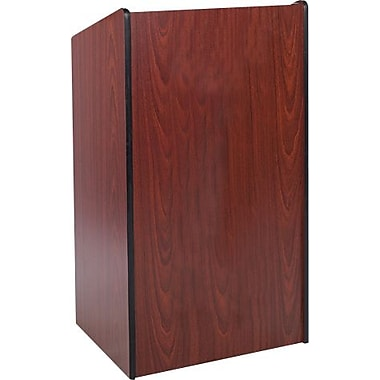 AmpliVox Sound Systems Presidential Plus Floor Lectern, Medium Oak (W450-OK)