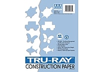 Pacon Tru-Ray Construction Paper 12' x 9', White (103026)