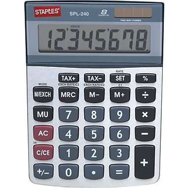 Staples® SPL-240 8-Digit Display Calculator