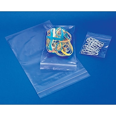 2-Mil Reclosable Polyethylene Bag, 18