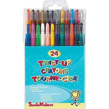 SmileMaker - Crayons Twist-Up, paq./24
