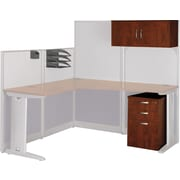 Bush Business Furniture Bush Business Furniture Office in an Hour Storage and Accessory Kit, Hansen Cherry (WC36490-03FA)