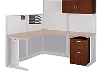 Bush Business Furniture Office in an Hour Storage and Accessory Kit, Hansen Cherry (WC36490-03)