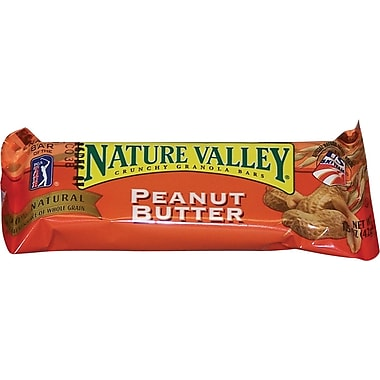 Nature Valley® Granola Bars, Peanut Butter, 1.5 oz. Packs, 28 Bars/Box