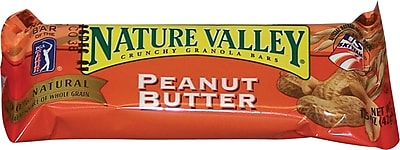 Nature Valley® Granola Bars, Peanut Butter, 1.5 oz. Packs, 28 Bars/Box